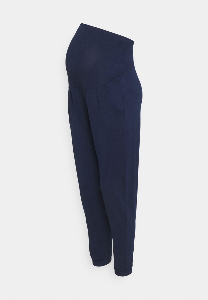 Dorothy Perkins Maternity - OVER BUMP JOGGER - Tracksuit bottoms - navy