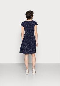 Anna Field - WOVEN VOLANT DRESS - Kjole - blue - 2