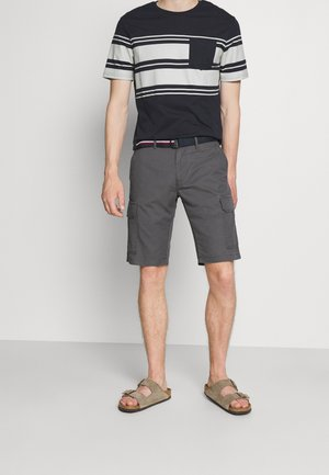 JOHN CARGO BELT - Shorts - dark ash