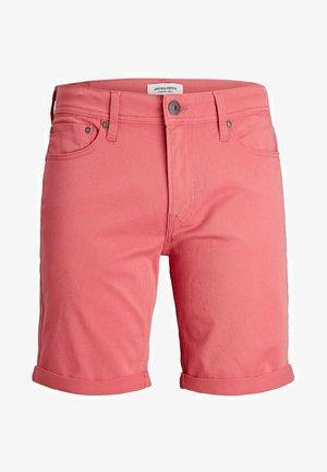 Denim shorts - slate rose