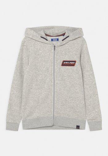 JORSWIRL - Zip-up sweatshirt - white melange
