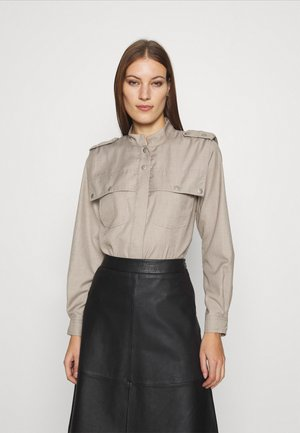 VIRAGZ  - Button-down blouse - walnut