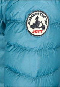 JOTT - CLOE - Gewatteerde jas - bleu canard - 3