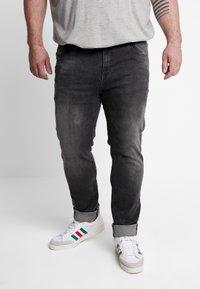 Cars Jeans - BLAST PLUS - Slim fit jeans - black used - 0