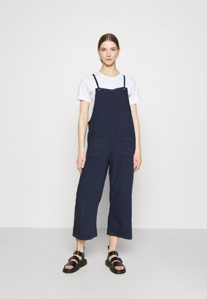 MONA DUNGAREES - Jumpsuit - blue medium dusty