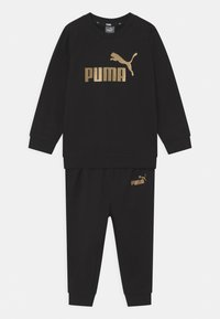 Puma - MINICATS CREW SET UNISEX - Trainingspak - puma black - 0