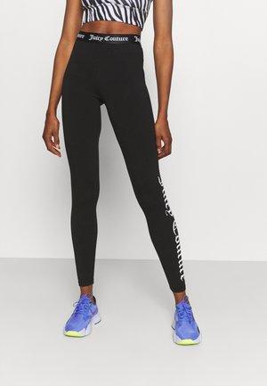 ANNA LEGGING - Tights - black