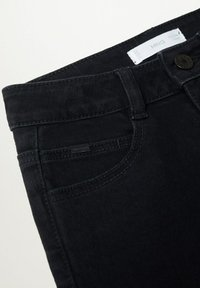 Mango - REGULAR - Straight leg jeans - black denim - 2