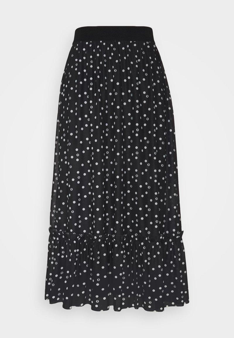 Bruuns Bazaar - THORA FLOUNCE SKIRT - A-line skirt - black