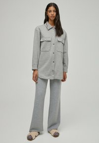 PULL&BEAR - Light jacket - grey - 1