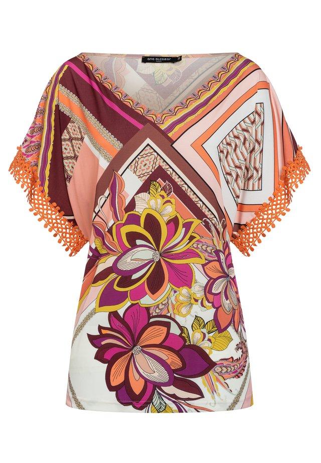 DURINA - T-shirt print - orange