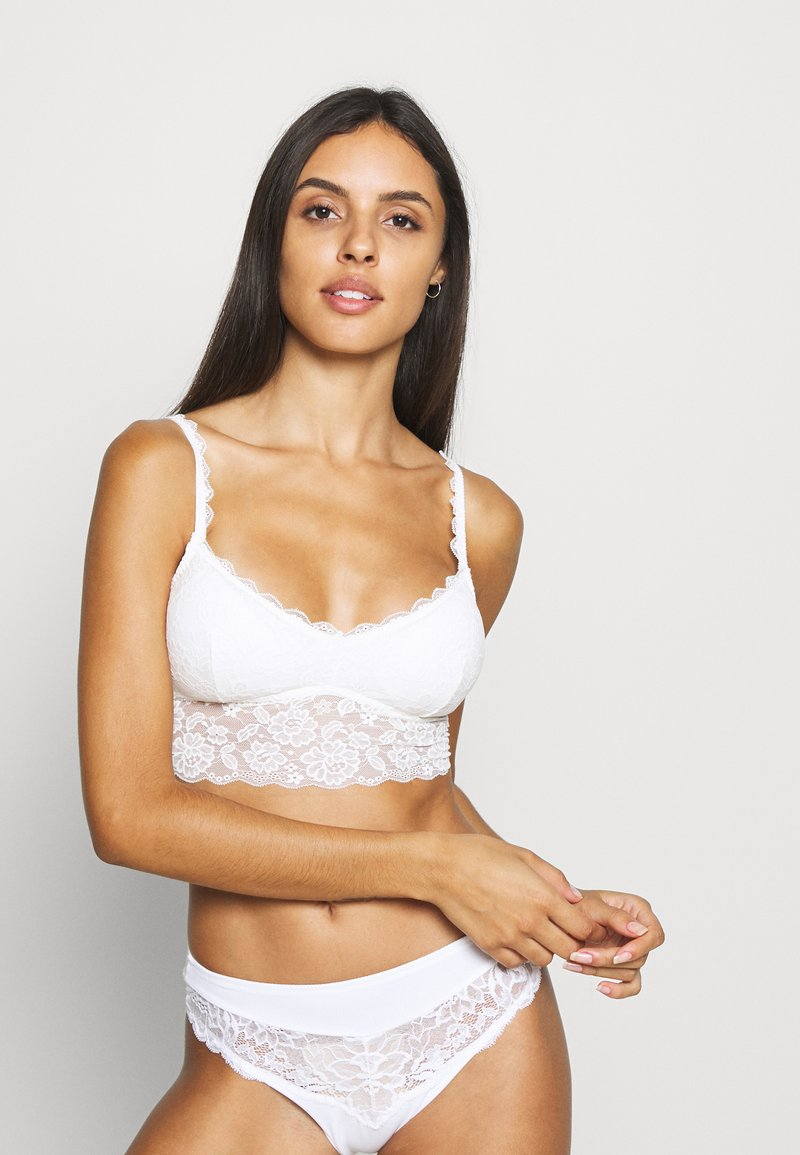 Gilly Hicks - NEUTRAL CORE LONGLINE - Bustier - white
