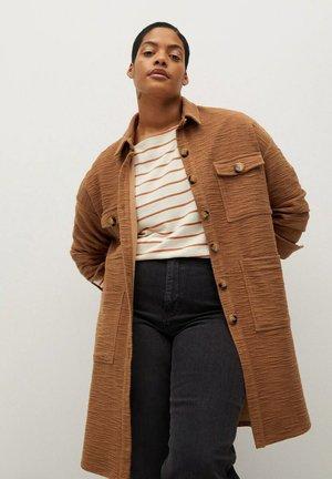 ROBERTA - Button-down blouse - karamell