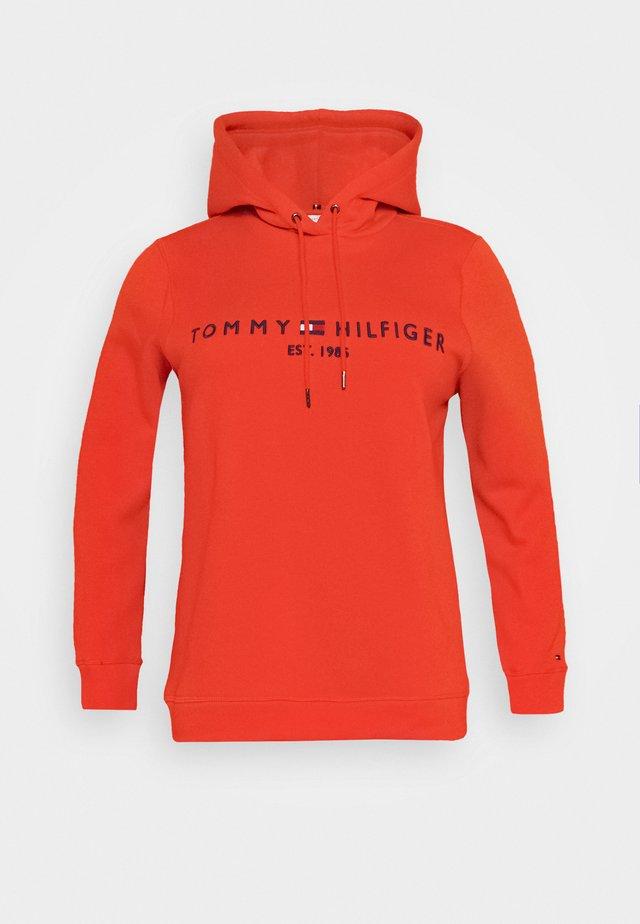 HOODIE - Hoodie - oxidized orange