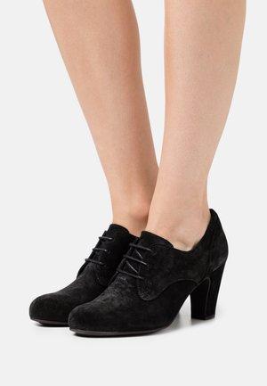 WILMA - Lace-up heels - marvin nero vintage