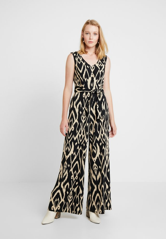 SLEEVELESS IKAT PRINT WITH OPEN BACK - Jumpsuit - several