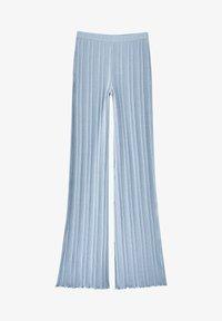 PULL&BEAR - Trousers - stone blue denim - 6