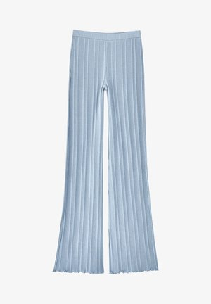 Trousers - stone blue denim