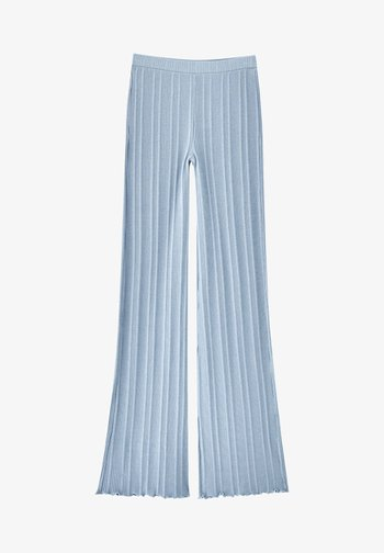 Kalhoty - stone blue denim