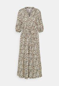 Object Tall - OBJHESSA MIDI DRESS TALL - Shirt dress - sandshell/animal dots - 0
