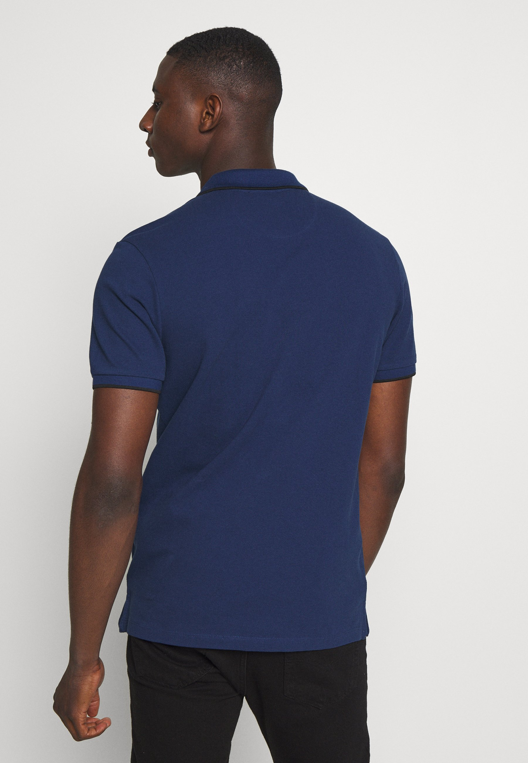 Jack & Jones PREMIUM JPRAXEL  - Polo shirt - blue depths nFKK7