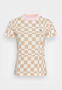 Puma - DOWNTOWN TEE - Print T-shirt - spray green - 3