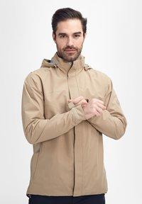 Mammut - TROVAT - Hardshell jacket - brown - 4