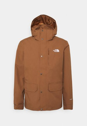 PINECROFT TRICLIMATE JACKET 2-in-1 - Hardshell jacket - pinecone brown/thyme brushwood