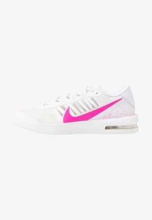 COURT AIR MAX VAPOR WING - Multicourt tennis shoes - white/laser fuchsia