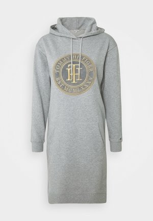 HOODIE DRESS - Vestito estivo - light grey heather