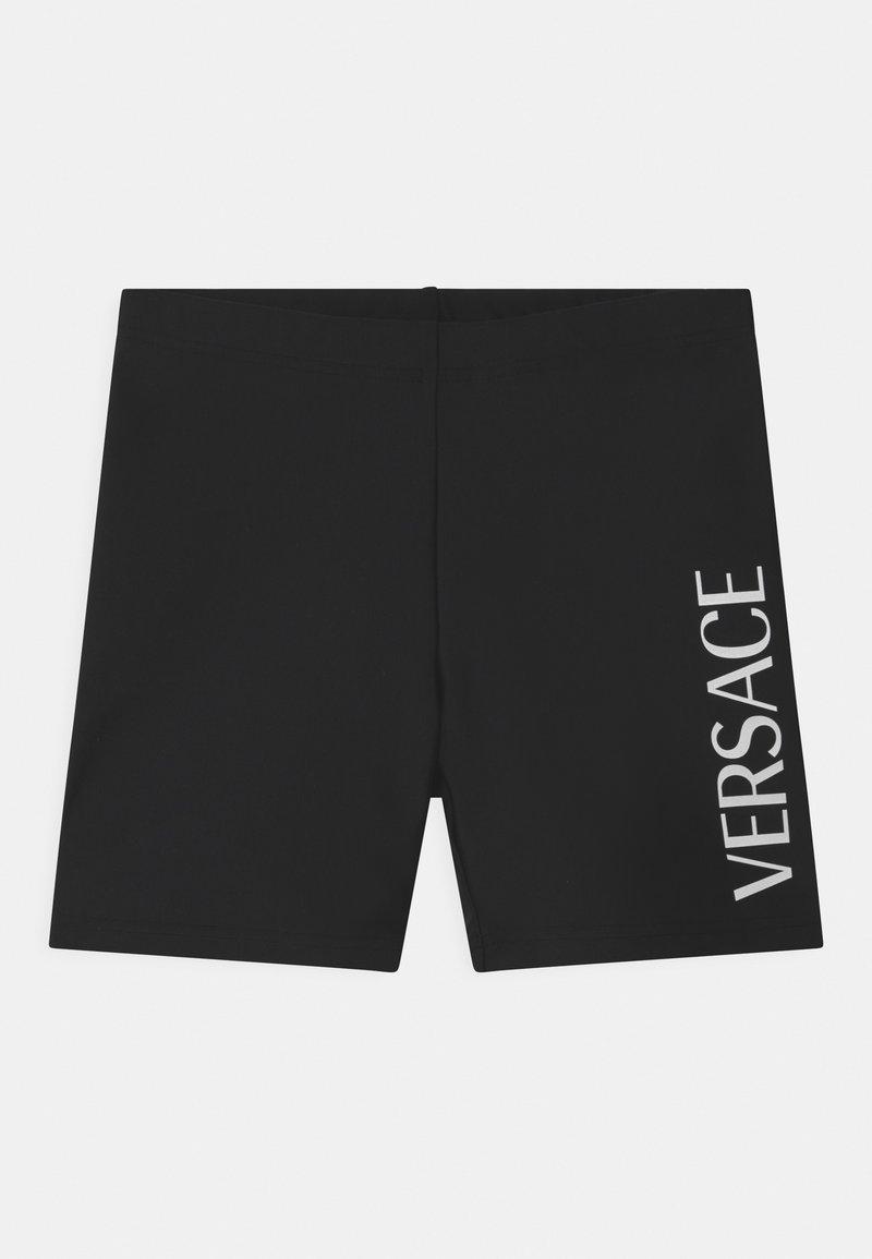Versace - PRINT  - Shorts - black/white
