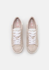 s.Oliver - LACE UP - Trainers - beige - 5