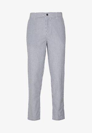 JJIACE JJSEERSUCKER - Trousers - light blue