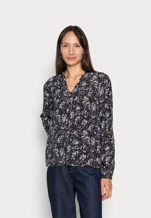 SOFT BLOUSE - Long sleeved top - black