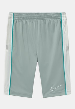 UNISEX - Pantalón corto de deporte - light pumice/white