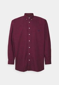Polo Ralph Lauren Big & Tall - LONG SLEEVE SPORT SHIRT - Shirt - classic wine - 0