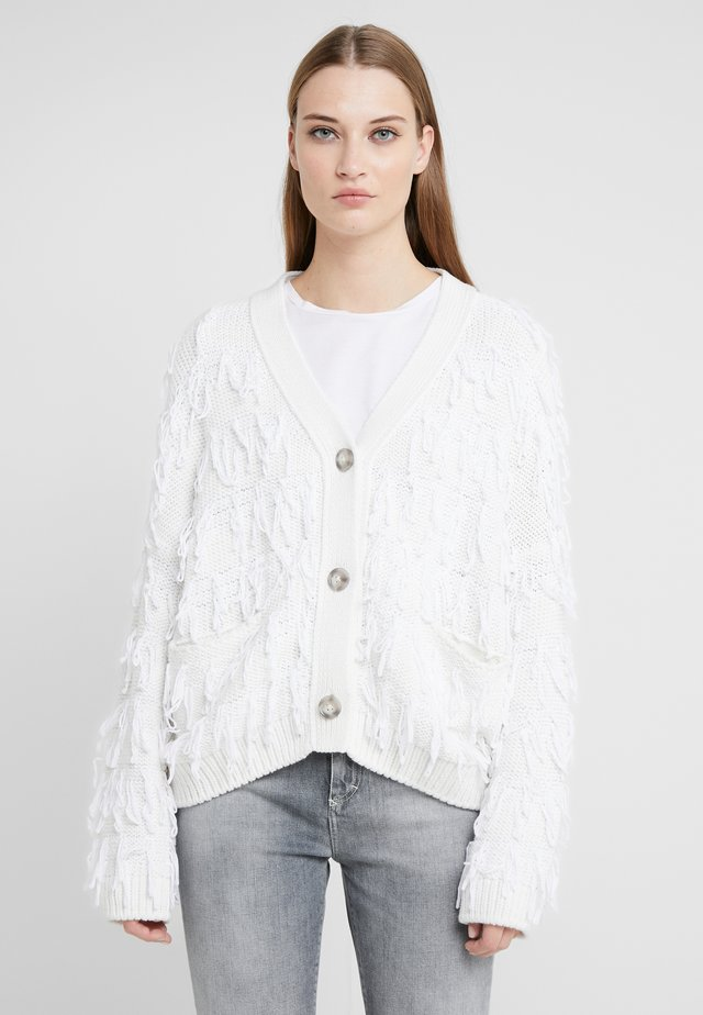Strickjacke - ivory