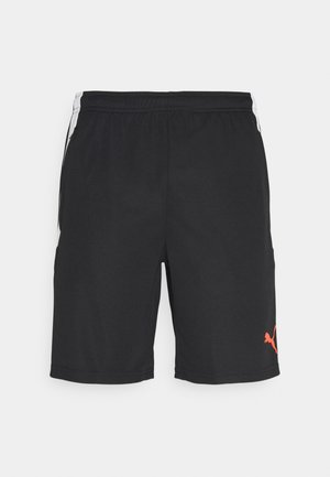 TEAM LIGA TRAINING SHORTS - Pantalón corto de deporte - black/red blast