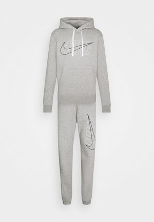 SUIT SET - Tracksuit - dark grey heather