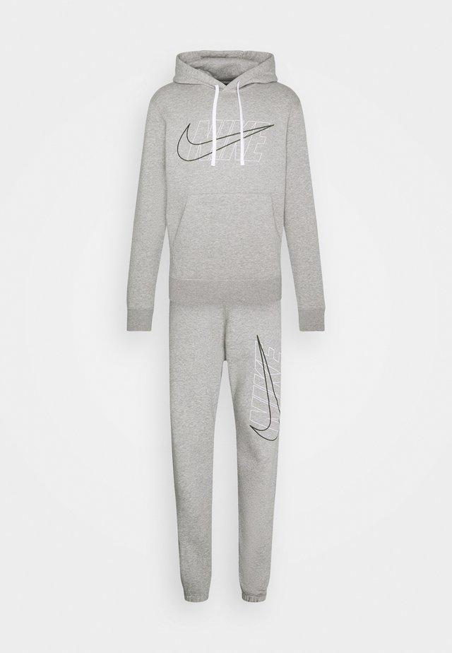 SUIT SET - Survêtement - dark grey heather