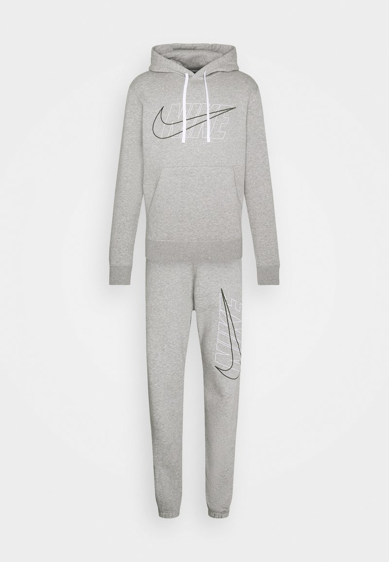 Nike Sportswear - SUIT SET - Träningsset - dark grey heather