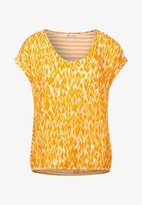 Street One - Print T-shirt - gelb - 3