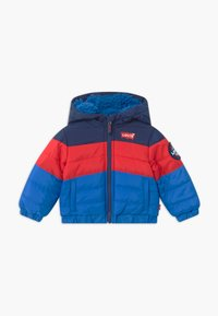 Levi's® - COLOR BLOCK PUFFER - Winter jacket - prince blue - 0