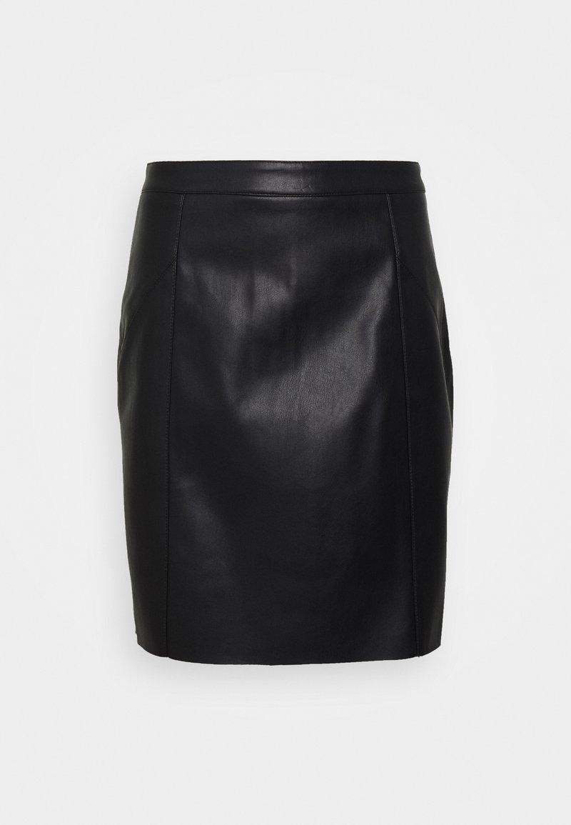 Vero Moda Tall - VMNORARIO SHORT SKIRT - Jupe crayon - black
