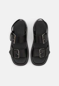 Zign - Platform sandals - black - 5