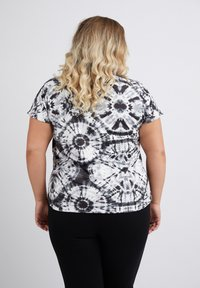 No.1 by Ox - TIEDYE - Print T-shirt - black - 1