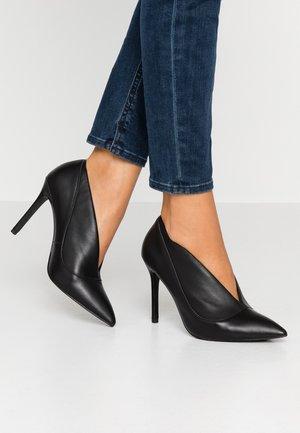 DINA - High heeled ankle boots - black