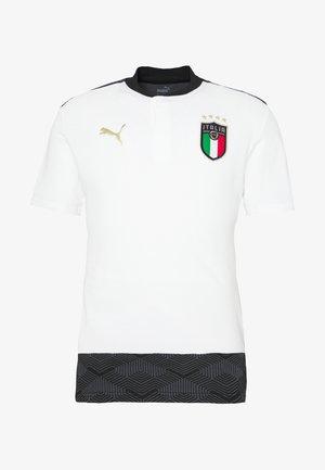 ITALIEN CASUALS - Voetbalshirt - Land - white/gold