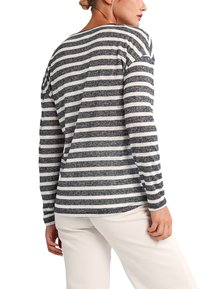 comma casual identity - Long sleeved top - black stripes - 5
