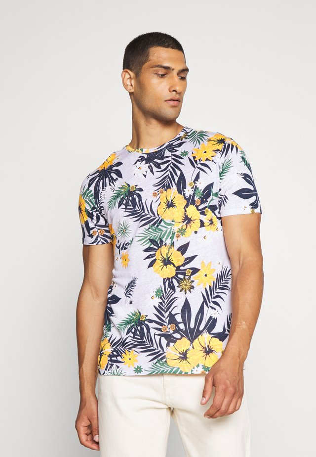 ALDER FLOWER TEE - Print T-shirt - multi-coloured